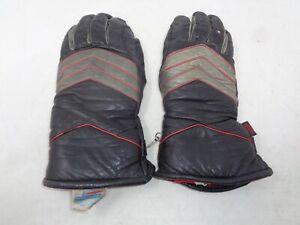 Vintage Hondaline Motorcycle Gloves Size Medium