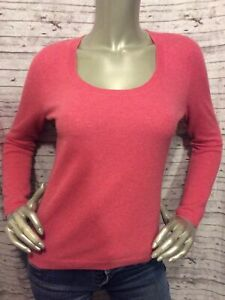 MINT - Talbots Sweater Pink Pure Cashmere Top Size Petite P