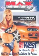 Max Power Way Out West - Max Power TV: Way Out West - Editors Cut... - DVD  6VVG