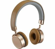 GOJI Collection GTCONRG18 Wireless Bluetooth Headphones - Rosegold - Currys