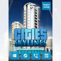 Cities Skylines Snowfall Expansion DLC for PC Game Steam Key Region Free
