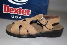 NEW Women's Dexter Liberation, Size 6 Medium, Sandstone Nubuck Leather Sandals