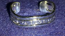 Silver Hotwife Toe Rings foot Jewelry Adjustable