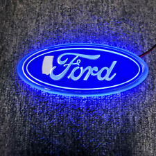 Bonnet Ford KA 2008-2012 Oval  Badge (Blue LED Light EMBLEM 2038573 For Ford