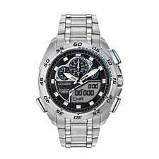 Citizen Eco-Drive Men's JW0110-58E Chronograph Perpetual Calendar 44mm Watch