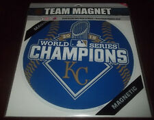 "Kansas City Royals 11.5"" Commemorative Magnet 2015 World Series Champions"
