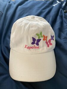 Kapalua Maui Hawaii White Baseball Cap Hat Golf Imperial w/ Tags