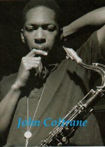 JOHN COLTRANE POSTER. Large - A2 repro. Jazz.