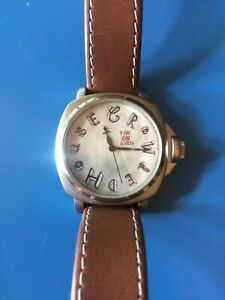 Crowded House Time On Earth Wrist Watch With Leather Band