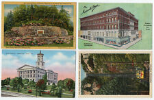 182 Tennessee postcards, vintage to chrome, most in very good condition
