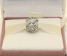 AUTHENTIC PANDORA Sparkling Love Knot Charm.791537CZ     #135