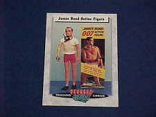 "CLASSIC TOYS TRADING CARDS JAMES BOND 007 GILBERT 12"" FIGURE & BOX"