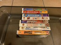 LOT of 8 MARY-KATE AND ASHLEY OLSEN VHS TAPES MOVIES