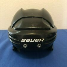 Bauer BHH2100M Ice & Roller Hockey Helmet BLACK Size Medium ~ Pre-Owned!