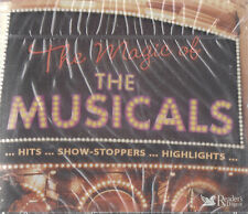 READERS DIGEST - THE MAGIC OF THE MUSICALS - 4 SET FATBOX SET - (NEW & SEALED)