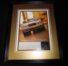 2001 Mercedes Benz E 320 Framed 11x14 ORIGINAL Vintage Advertisement