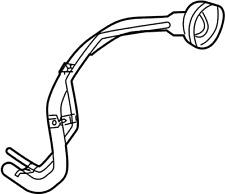 Nissan/INFINITI 17221-9FU0A Fuel Filler Neck.