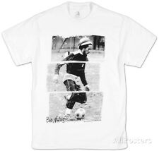 Bob Marley -Soccer 77 Apparel T-Shirt XL - White