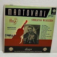Strauss / Mantovani And His Orchestra – Strauss Waltzes: London Records LP 1952