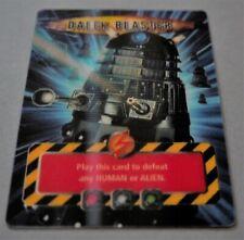 Doctor Who Battles in Time DALEK BLASTER Ultra Rare Lenticular Card