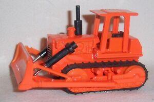 1/64 Orange Bulldozer Farm Toy Equipment Diecast