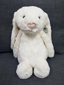 Kids Soft Toy - Jellycat Bashful Cream Bunny Huge 51CM- Kids Birthday Present!