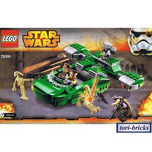 Lego Star Wars Flash Speeder mit Bauanleitung, ohne Figuren aus 75091