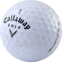 60 Near MINT Callaway Warbird Used Golf Balls | Recycled Golf Balls