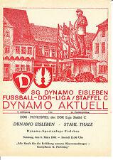 DDR-Liga 80/81 SG Dynamo Eisleben-BSG acero Thale 08.03.1981