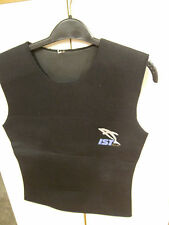 Mens Womens Size S Wet Suit Vest 3 mm Ist Proline Scuba Snorkeling Water Sports