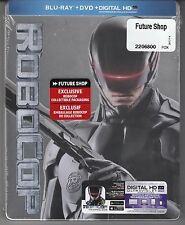 RoboCop SteelBook Blu-ray+DVD+Digital Copy *NEW*