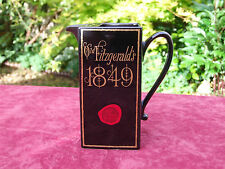 VINTAGE RARE OLD FITZGERALD'S 1849 WHISKEY WHISKY ADVERTISING JUG