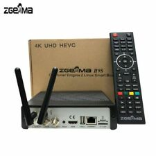 Zgemma  H9S  WIFI Enigma 2 4K FREE TO AIR UHD Satellite Receiver UK PLUG