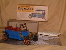 SUNRISE TIN B/O MYSTERY ACTION & SMOKING FORD MODEL T CAR W/BOX! IT ALL WORKS!!