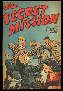 Steve Canyon's Secret Mission #nn Harvey File Copy Giveaway Comic 1951 VF