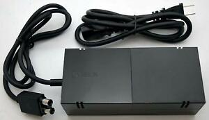 Genuine Microsoft OEM XBOX ONE Power Supply Brick Adapter with Cable Cord