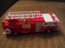 """FDNY 7"""" Toy Play Fire Truck Pull Back"""