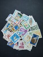 Hungary stamp collection, kiloware ,640 all different off paper stamps