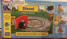 New THOMAS & FRIENDS Take Along DIESEL - Great Waterton Fold & Go Playset