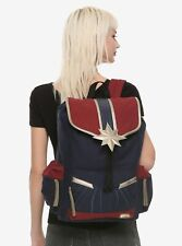 Bioworld Captain Marvel Back Pack NEW WITH TAGS