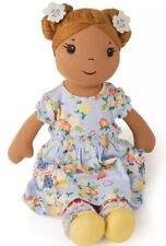 "Matilda Jane OLIVIA DOLL IN CHALKBOARD DOODLE DRESS  SOLD OUT COZY TOWN 18"" Girl"