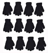 Kids Magic Gloves Children Knit Gloves Wholesale 12 Pairs 6 to 16 years NEW YORK