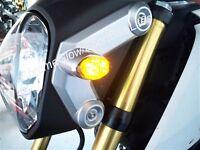 Honda Grom MSX125 Front LED Turn Signal Kit - Smoked Lens