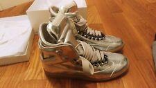 Maison Martin Margiela MMM Silver Chrome Chain Sneakers Sz 10 US 43 EU $995