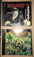 Spook Along With Zacherley & Monster Mash Party Cd Lot Zacherle's