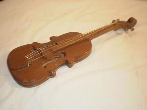 "18"" Miniature Wooden Violin"