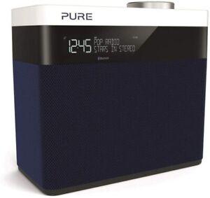 Pure Pop Maxi S Portable Stereo FM/DAB+/DAB Digital Radio - Navy Blue