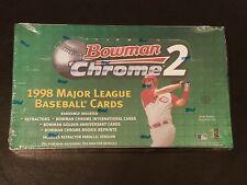 1998 Bowman Chrome Series 2 Baseball Factory Hobby Box.