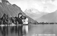BG8104 chateau de chillon et dents du midi  switzerland CPSM 14x9cm