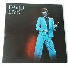 David Bowie - Live - Vinyl Double LP UK 1st Press EX+/EX